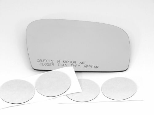 Fits 08-12 Impreza Right Passenger Heated Convex Mirror Glass Lens w//Adhesive