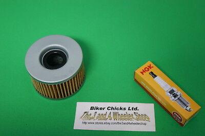 Honda Rancher TRX350ES Tune Up Kit NGK Spark Plug Oil Filter TRX350 4x4 FW TE FE