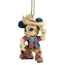 Disney  Roundup Mickey Mouse Hanging Figurine Christmas  Decoration