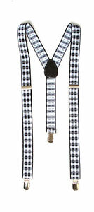 Haze-Plaid-3-Clip-Stretchable-Suspenders
