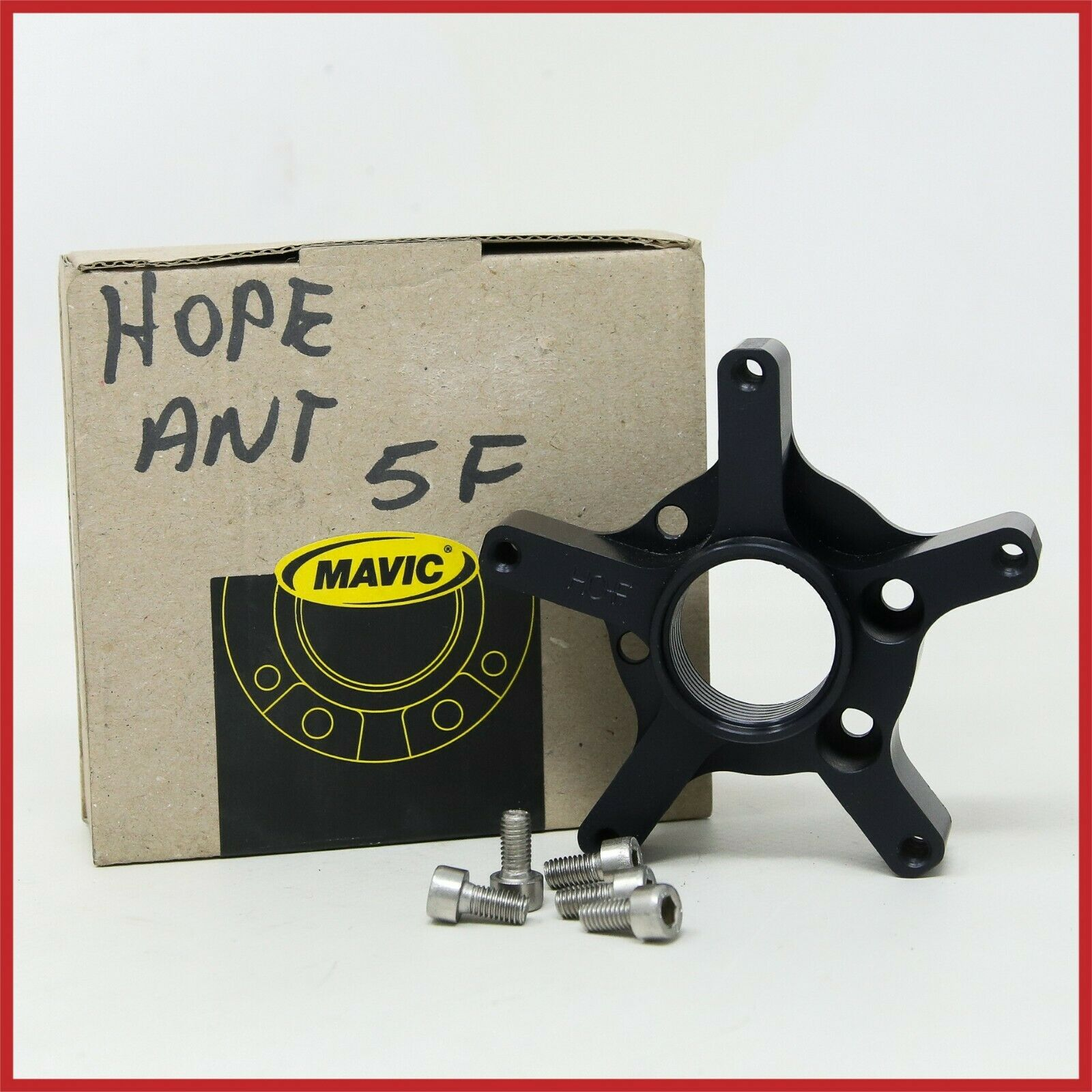 NOS MAVIC M40161 FRONT HUB  ADAPTER HOPE DISC 5 HOLES CNC BRAKE HUBS MTB MOUNTAIN  check out the cheapest