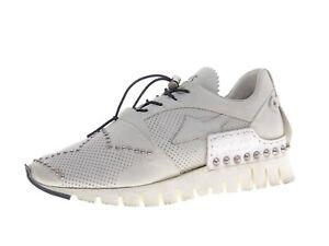 A.S.98 Damen Schuhe Sneaker Laufschuhe Freizeitschuhe Gr 39 Leder Weiß
