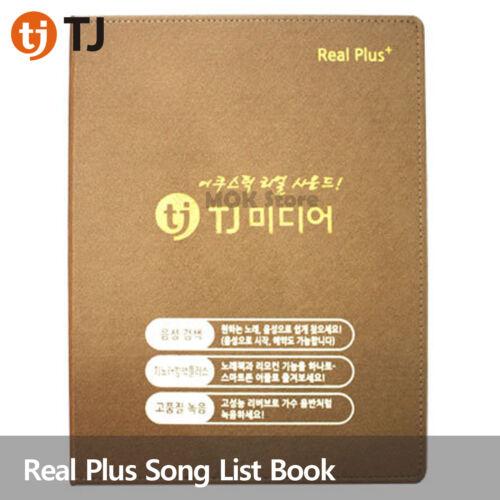 TJ Media Taijin Karaoke Real Plus Song list book (for B70,C70,P70..)