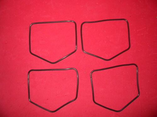 4 float bowl gaskets Honda CB500 CB500K CB550F CB550 CB550K CB350 Carb