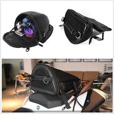 Waterproof Motorcycle Dirt Bike Back Seat Bag Tail Shoulder Bag Hand Saddlebag