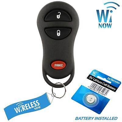 2 Car Key Fob Entry Remote For 1999 2000 2001 2002 Dodge Ram 1500 2500 3500 4500