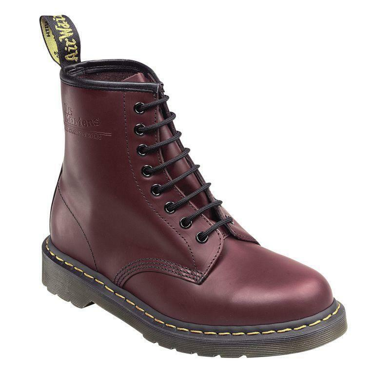 DR Martens Doc 8 fori 1460 Smooth Cherry Red 11822600 l'originale