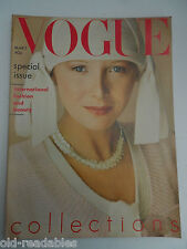 VOGUE **  MARCH 1st 1975  ** More Birthday Issues in our shop ** FREE GIFTWRAP
