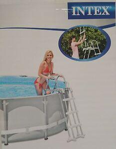 Intex-Poolleiter-91-107-cm-Pool-Poolsicherheitsleiter-Leiter-Badeleiter-N