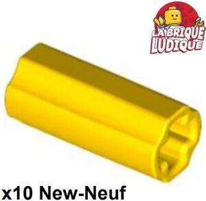 10 X NOUVEAU Lego Technique axe 5-Jaune 32073