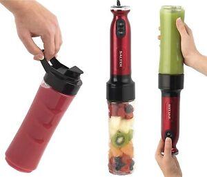 SALTER-RED-NutriTwist-Blender-Juicer-Smoothie-Maker-Hand-Blender-Power-EK2187