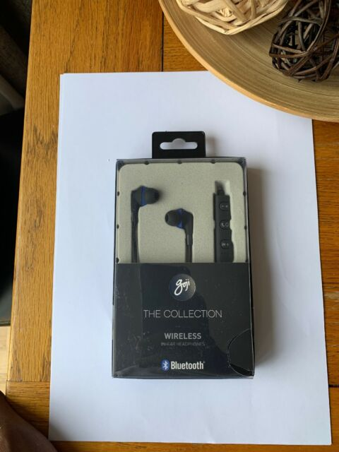 GOJI COLLECTION GTCINBT16 Wireless Bluetooth Headphones  Black & Blue