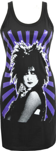 WOMENS GOTHIC DRESS SIOUXSIE SIOUX AND THE BANSHEES POST PUNK GOTH ROCK S-XL