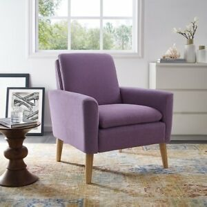 Charmant Image Is Loading Elegant Mid Century Modern Tufted Velvet Armchair Living