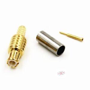 Mcx-male-a-sertir-RG174-RG179-RG316-LMR100-rf-connecteur-vendeur-britannique