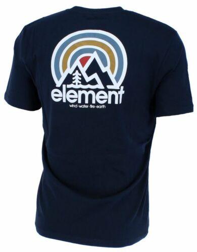 ELEMENT SONATA Herren T-Shirt Druck an Rücken und Brust