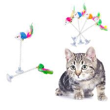 Katze Haustier Spielzeug Feder Maus Spielangel Katzen Spielen Kratzen Spielzeug
