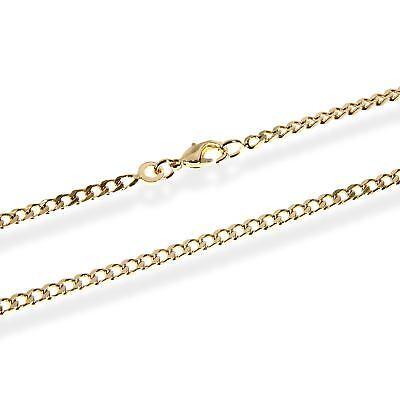 Armband Panzerkette 18cm Königskette 2,5mm Vergoldet Mit 18k 750 Gelb Gold 5537 Einfach Und Leicht Zu Handhaben