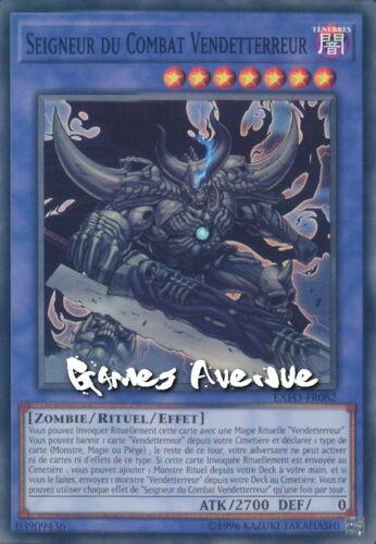 Yu-Gi-Oh Seigneur du Combat Vendetterreur EXFO-FR082 EXFO-EN082 VF//2° Edition