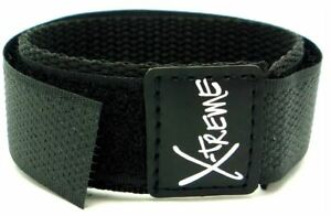 20mm-X-treme-Black-Sports-Xtreme-Nylon-Hook-amp-Loop-Official-Velcro-Watch-Strap