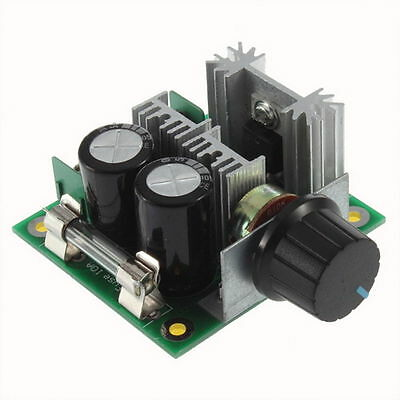1 PC 12-40 VDC 10 AMP PULSE WIDTH MODULATED  MOTOR SPEED CONTROL WITH BRACKET