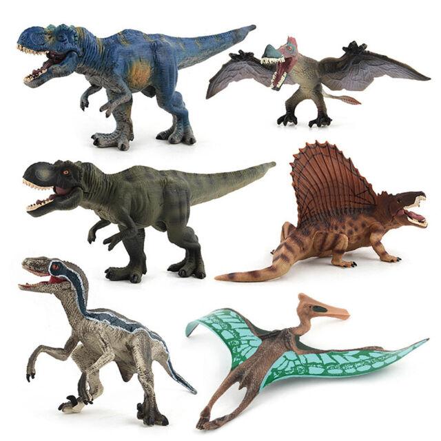 20pcs Children Simulation Plastic Dinosaur Toys Action Figures Christmas Gift