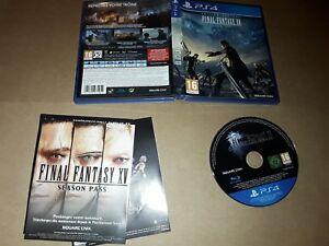 Final Fantasy XV 15   - PS4 - playstation 4  complet