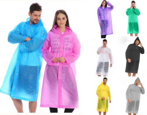 Mens nero Outdoor Impermeabili blu giallo Womens viola bianco grigio verde Rosa See Through Transparent Raincoat Clear Festival Udpwqd4Z