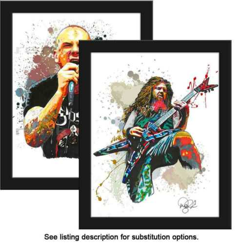 "Choose ANY 2 11x14"" Pantera Dimebag Darrell Phil Anselmo Music Art Print Poster"