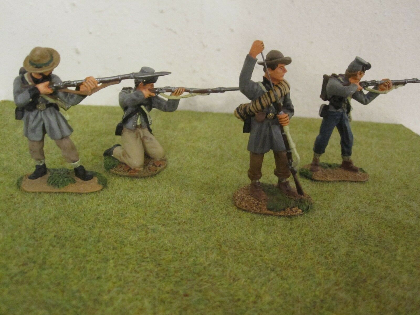 Conté - American Civil War Confederate Texas Brigade Firing Set ACW57149 ACW