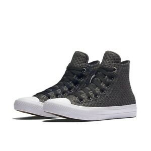5b2846d265d1 UNISEX CONVERSE CHUCK TAYLOR ALL STAR II HIGH SPACER MESH THUNDER ...
