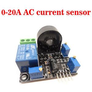 Working dc5v ac current sensor 0 20a short circuit for Motor current sensing circuit