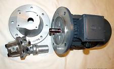230 / 400 Volt, 0,55 KW Motor Hydraulikaggregat , ohne Ölbehälter  1,36cm² pumpe