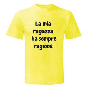 ManGiallo Art Ha Ragazza Sempre RagioneUomo ShirtMaglietta T XZOPuki