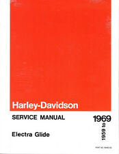 1959-1969 Harley Electra Glide Touring 1200cc Repair Service Manual 99482-69