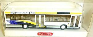 BUS-MAN-SL-202-MAN-Die-Loewen-unter-den-Baeren-Werbemodell-WIKING-H0-1-87-GD4a