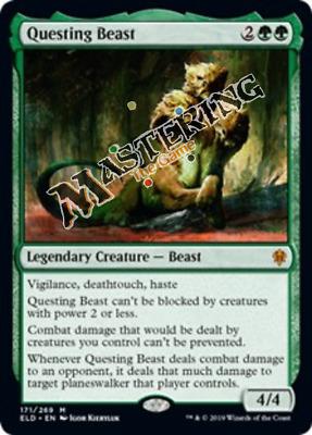 4x Garruk Cursed Huntsman Throne of Eldraine MtG MasteringtheGame