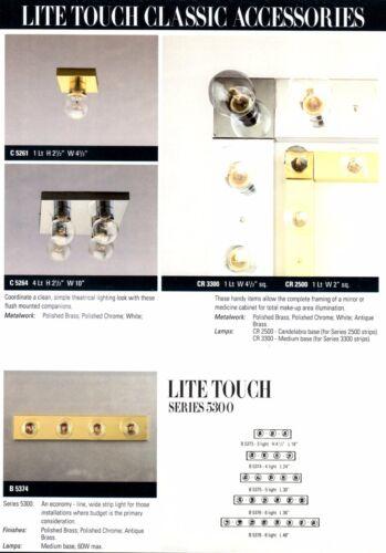 WALL Bath FIXTURE Bar STRIP 3 6 8 Light Polished Antique Brass Chrome TROY NEW