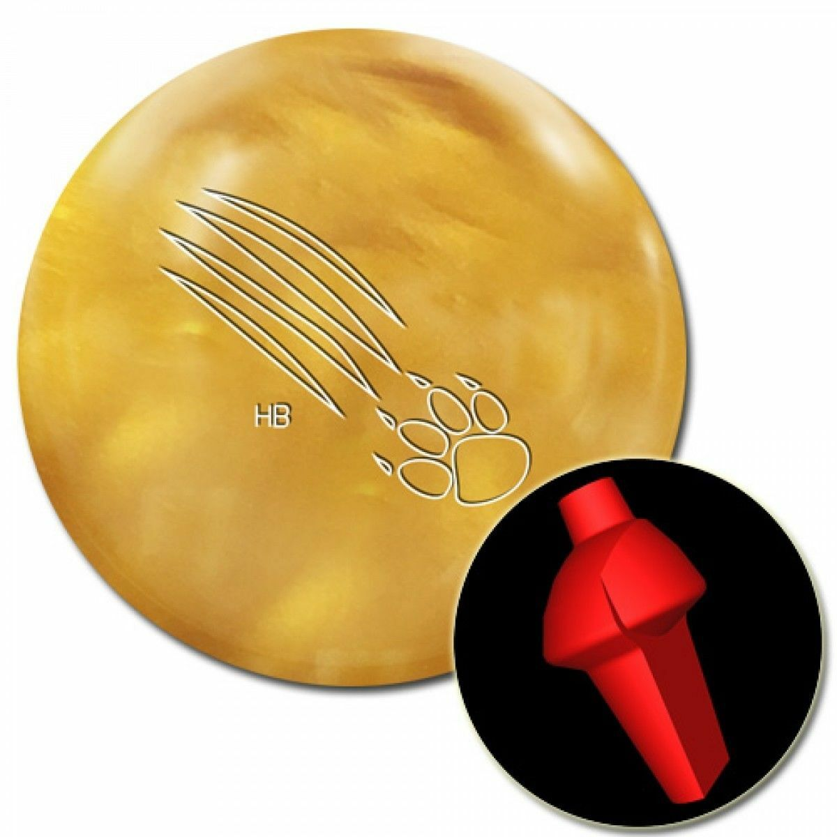 16lb 900 Global HONEY BADGER Pearl Reactive Bowling Ball