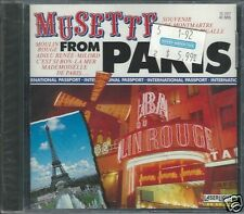 Musette from Paris * by Pierre Solange/Musette Ensemble (CD, Oct-1991, Laserlight)