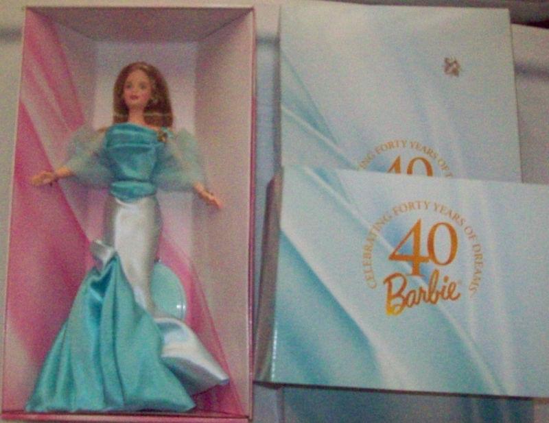 Gala 40º Aniversario Bumblebee Barbie w shipper Mib