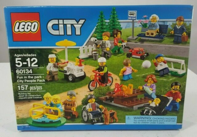 BRAND NEWFREE P/&P LEGO 60134 City Fun in the Park box set