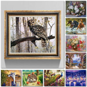 New-DIY-Digital-Oil-Painting-Kit-Paint-by-Numbers-on-Canvas-Scenery-Home-Decor