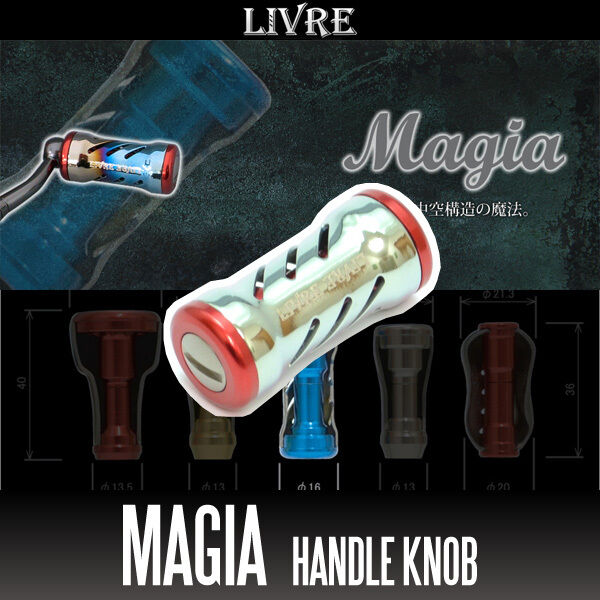 LIVRE Magia Titanium Handle Knob 1 piece CHAMPAGNE    RED  70% off