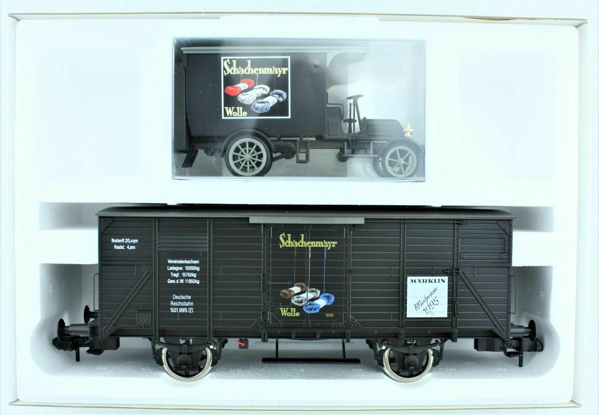 Märklin 85895 Museumswagen 1995 in OriginalverVerpackungung Spur 1 TOP