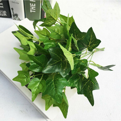 Artificial Leaves Fake Plant Silk Flower Bouquet Office Home Wedding Floral Deco