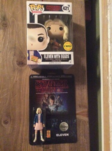 Stranger Things Eleven Funko Chase Pop And Figure