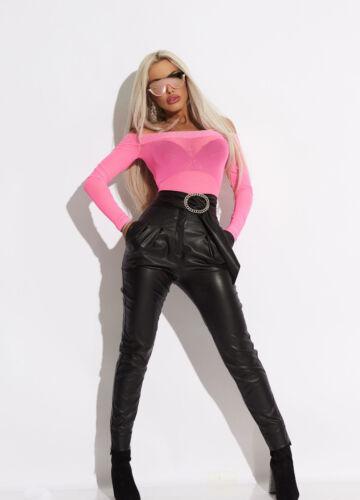 Alina Damen Transparent Xs m Par Body Body Carmenbluse Schulterfrei fSwcg17x