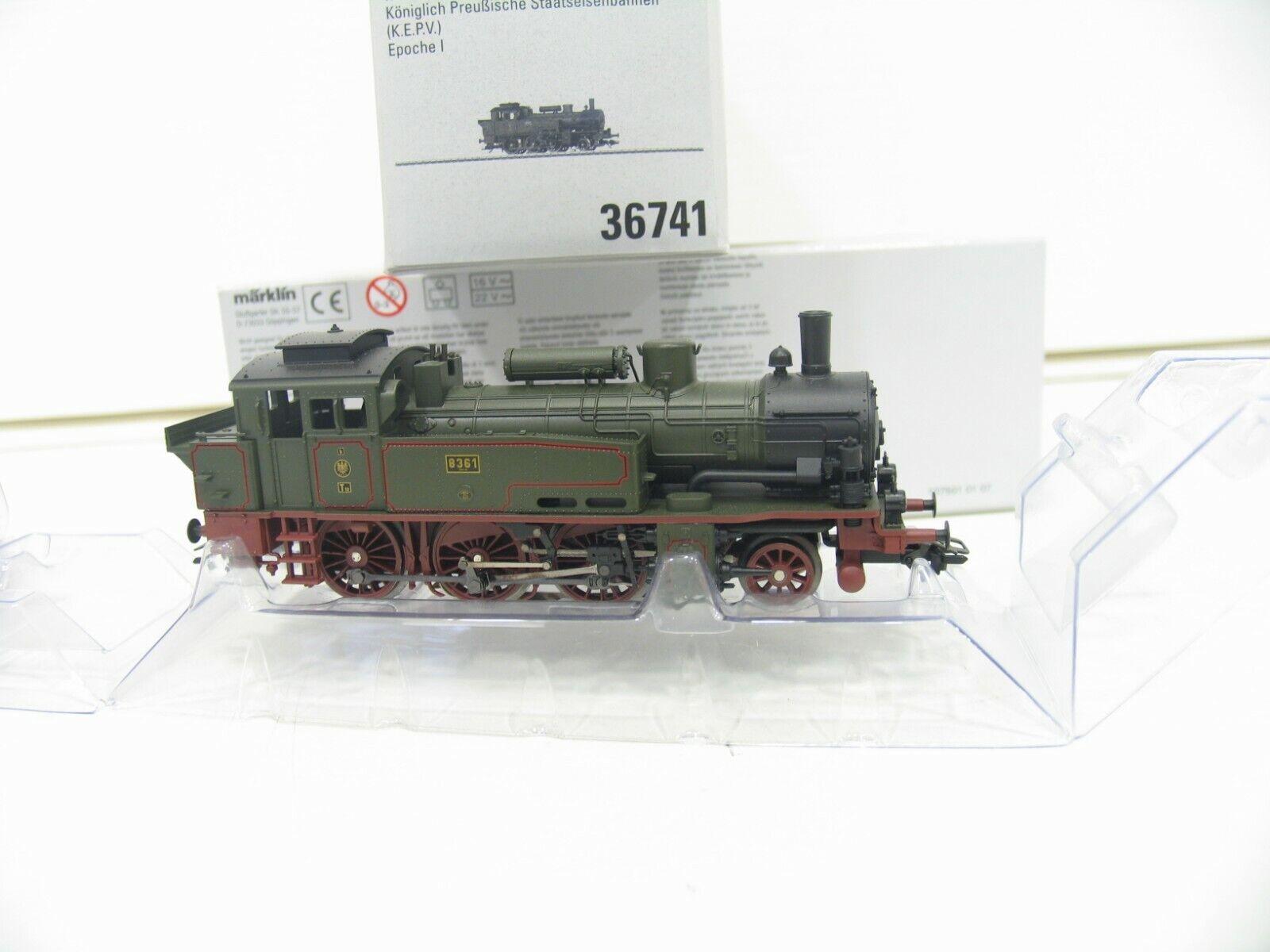 Märklin 36741 Steam Locomotive T12 KPEV Digital JS631