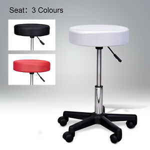 Adjustable-Rolling-Salon-Stool-SPA-Tattoo-Massage-Swivel-Chair-w-3-Colours-Seat